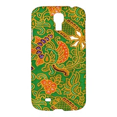 Art Batik The Traditional Fabric Samsung Galaxy S4 I9500/i9505 Hardshell Case