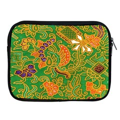 Art Batik The Traditional Fabric Apple Ipad 2/3/4 Zipper Cases
