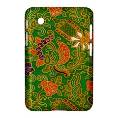 Art Batik The Traditional Fabric Samsung Galaxy Tab 2 (7 ) P3100 Hardshell Case