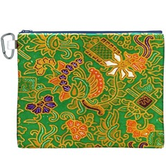 Art Batik The Traditional Fabric Canvas Cosmetic Bag (xxxl)