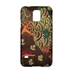 Art Traditional Flower  Batik Pattern Samsung Galaxy S5 Hardshell Case
