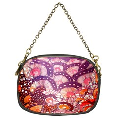 Colorful Art Traditional Batik Pattern Chain Purses (one Side)