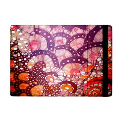 Colorful Art Traditional Batik Pattern Apple Ipad Mini Flip Case