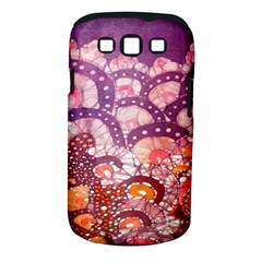 Colorful Art Traditional Batik Pattern Samsung Galaxy S Iii Classic Hardshell Case (pc+silicone)