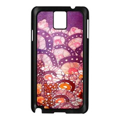 Colorful Art Traditional Batik Pattern Samsung Galaxy Note 3 N9005 Case (black)