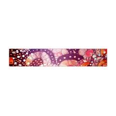 Colorful Art Traditional Batik Pattern Flano Scarf (mini)