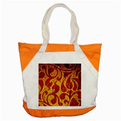 Abstract Pattern Accent Tote Bag