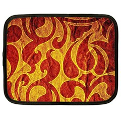 Abstract Pattern Netbook Case (xl)