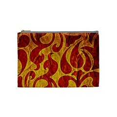 Abstract Pattern Cosmetic Bag (medium)