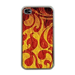 Abstract Pattern Apple Iphone 4 Case (clear)