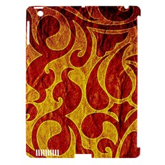 Abstract Pattern Apple Ipad 3/4 Hardshell Case (compatible With Smart Cover)