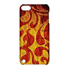 Abstract Pattern Apple Ipod Touch 5 Hardshell Case With Stand