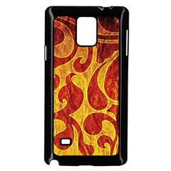 Abstract Pattern Samsung Galaxy Note 4 Case (black)