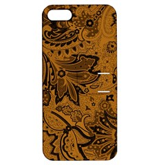 Art Traditional Batik Flower Pattern Apple Iphone 5 Hardshell Case With Stand