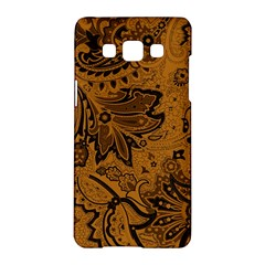 Art Traditional Batik Flower Pattern Samsung Galaxy A5 Hardshell Case