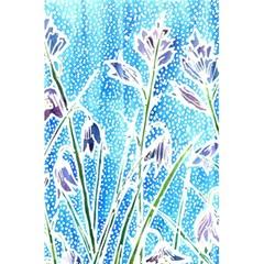 Art Batik Flowers Pattern 5 5  X 8 5  Notebooks