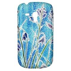 Art Batik Flowers Pattern Galaxy S3 Mini
