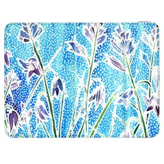 Art Batik Flowers Pattern Samsung Galaxy Tab 7  P1000 Flip Case