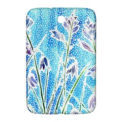 Art Batik Flowers Pattern Samsung Galaxy Note 8 0 N5100 Hardshell Case