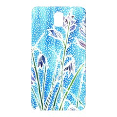 Art Batik Flowers Pattern Samsung Galaxy Note 3 N9005 Hardshell Back Case