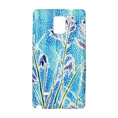 Art Batik Flowers Pattern Samsung Galaxy Note 4 Hardshell Case