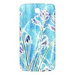 Art Batik Flowers Pattern Samsung Galaxy Mega I9200 Hardshell Back Case