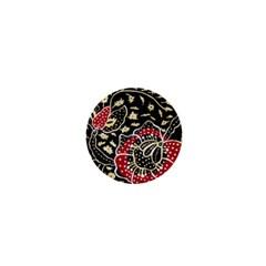 Art Batik Pattern 1  Mini Buttons