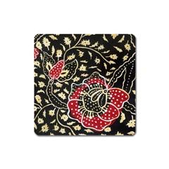 Art Batik Pattern Square Magnet