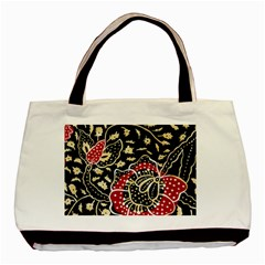 Art Batik Pattern Basic Tote Bag (two Sides)