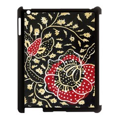 Art Batik Pattern Apple Ipad 3/4 Case (black)