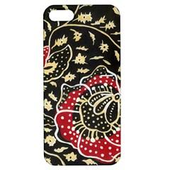Art Batik Pattern Apple Iphone 5 Hardshell Case With Stand