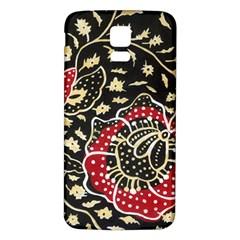Art Batik Pattern Samsung Galaxy S5 Back Case (white)