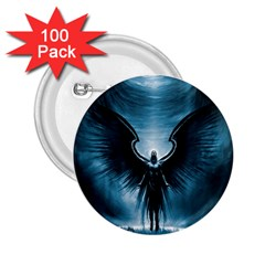 Rising Angel Fantasy 2 25  Buttons (100 Pack)