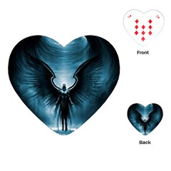 Rising Angel Fantasy Playing Cards (heart)