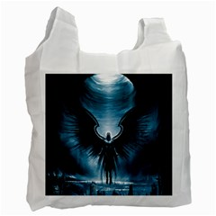 Rising Angel Fantasy Recycle Bag (one Side)