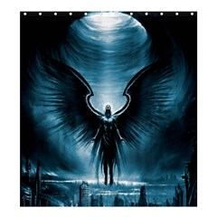 Rising Angel Fantasy Shower Curtain 66  X 72  (large)
