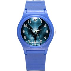 Rising Angel Fantasy Round Plastic Sport Watch (s)