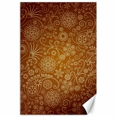 Batik Art Pattern Canvas 20  X 30