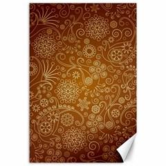 Batik Art Pattern Canvas 24  X 36