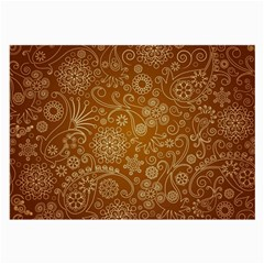 Batik Art Pattern Large Glasses Cloth