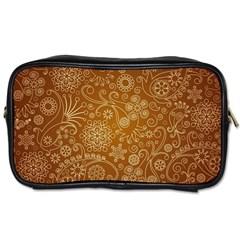 Batik Art Pattern Toiletries Bags 2 Side