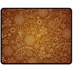 Batik Art Pattern Fleece Blanket (medium)