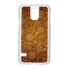 Batik Art Pattern Samsung Galaxy S5 Case (white)