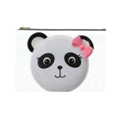 Pretty Cute Panda Cosmetic Bag (large)