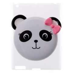 Pretty Cute Panda Apple Ipad 3/4 Hardshell Case