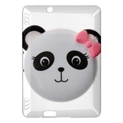 Pretty Cute Panda Kindle Fire Hdx Hardshell Case