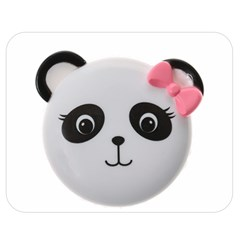Pretty Cute Panda Double Sided Flano Blanket (medium)