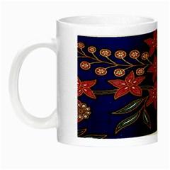 Batik  Fabric Night Luminous Mugs