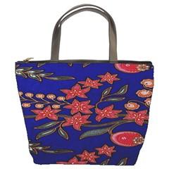 Batik  Fabric Bucket Bags
