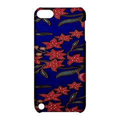 Batik  Fabric Apple Ipod Touch 5 Hardshell Case With Stand